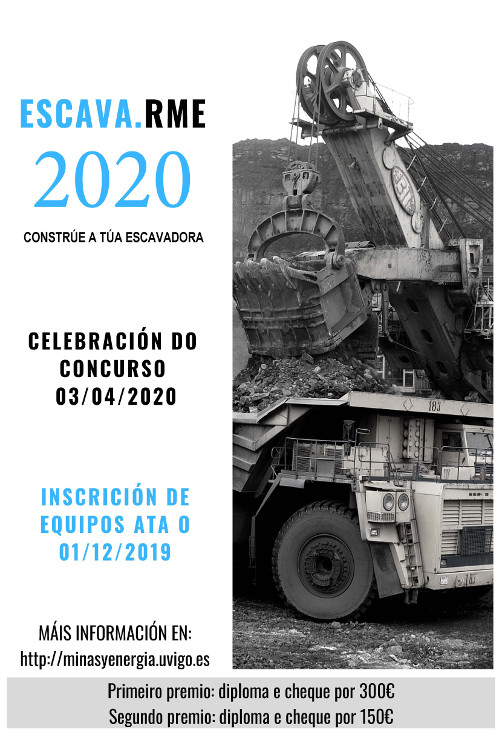 cartel escava.rme2020